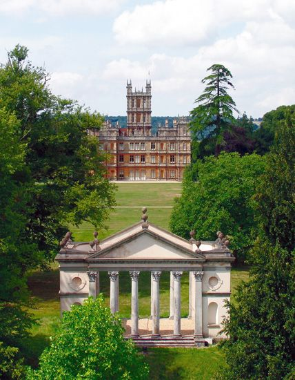 Highclere Castle  The Park and the Follies  Highclere Castle is set in 1,000 acres of parkland designed for the 1st Earl of Carnarvon by th...