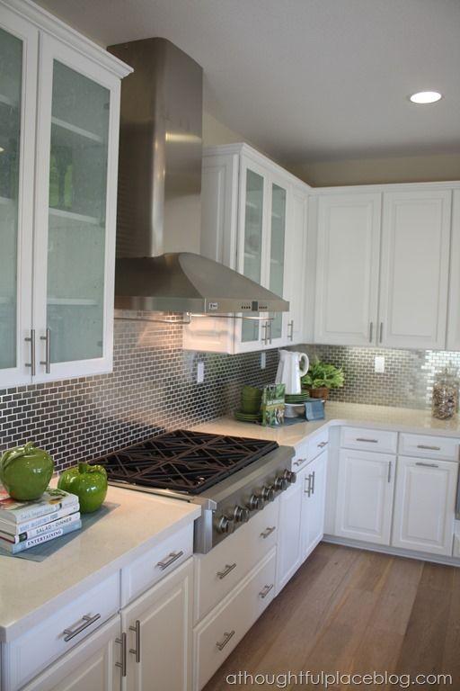 Small Kitchen With Light Flooring Design Ideas Html on