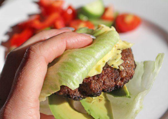 Paleo Challenge Day 26 - Nom Nom Paleo Big-O Burger. This burger is AMAZING! Make sure to try.