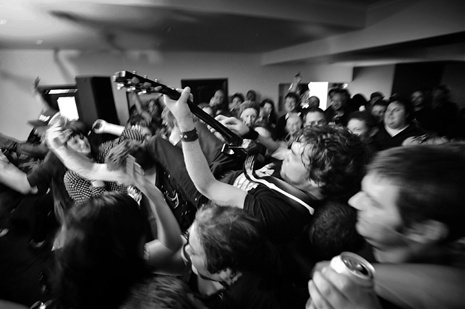 Launceston rock band The Styles return to The Gunners Arms for their first Tasmanian gig since January 2006 and first show after a 4 year hiatus. Picture: Scott Gelston.