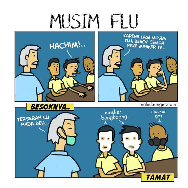 komik-musim-flu