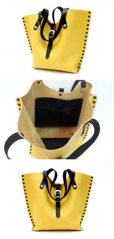 Ledertaschen - Ledertasche - ein Designerstück von monti-lederdesign bei DaWanda