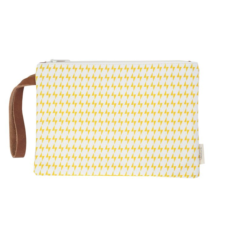 ARTPECKERS Zeus Yellow pouch