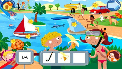 Jeux pour lire avec Sami et Julie Lite, pour iPad by Hachette Livre