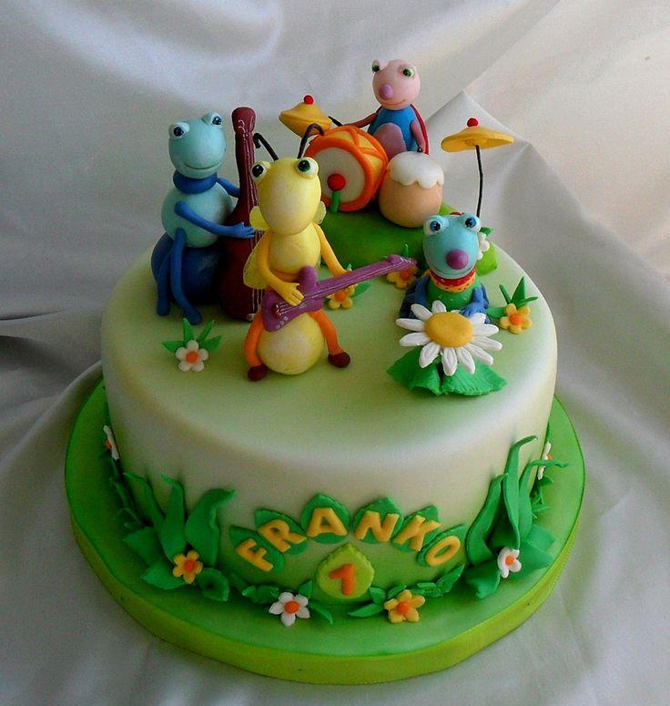 Bug Themed Cake Pops