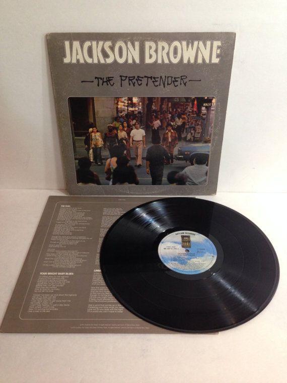 Jackson Browne The Pretender Vintage Vinyl Record Album lp 1976 Asylum Records 6E-107 by NostalgiaRocks