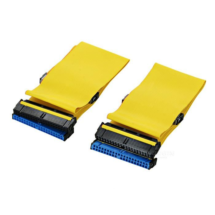 Hard Drive ATA 100 IDE Ribbon Cable (2-Pack). . Tags: #Computers/Tablets #Networking #Cables #Adapters #Computer #Cable #Adapter