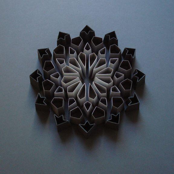 Sculptures de papier | COLLECTIF TEXTILE