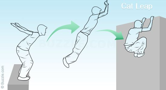 Parkour Moves for Beginners - Cat Leap
