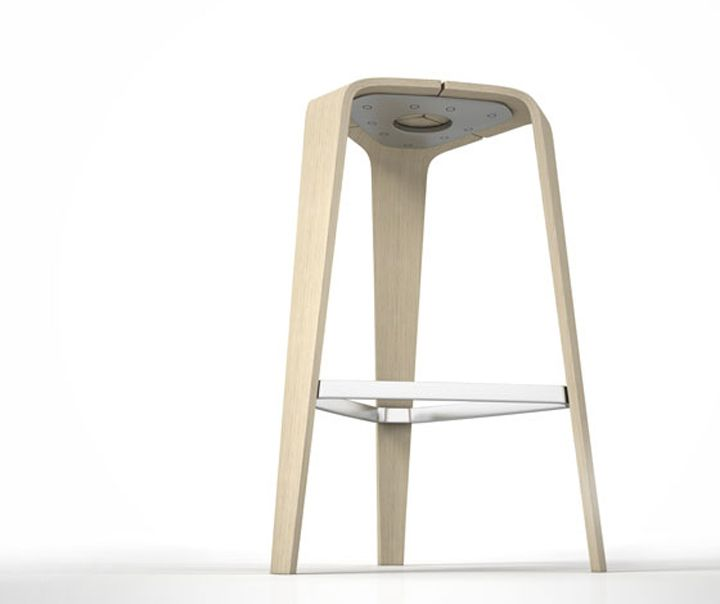 Hoc stool by Jehs + Laub for Brunner