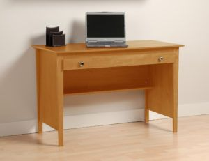 Prepac Maple Contemporary Computer Desk