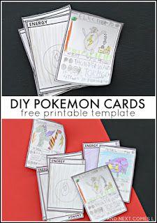 Teken je eigen Pokemon kaarten. Pokemon verjaardag: ideeën en inspiratie voor een Pokemon feestje met feesttafel, versieringen en spelletjes.