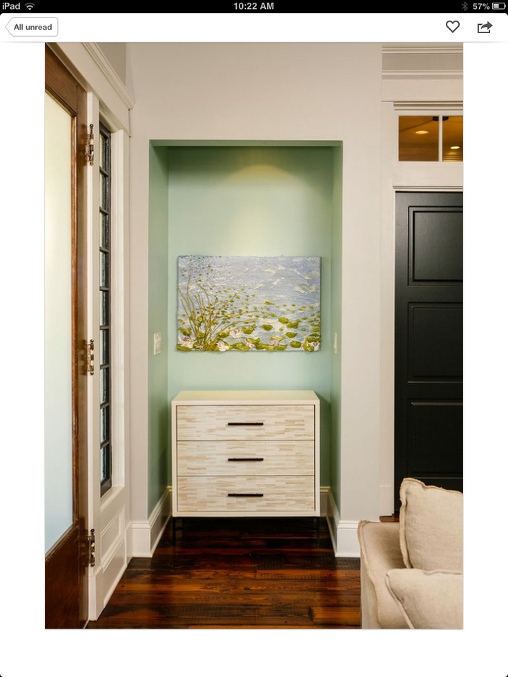 Paint The Alcove A Different Color Alcoves Pinterest