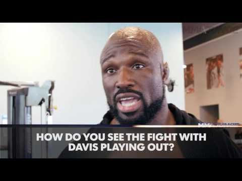 Muhammed 'King Mo' Lawal believes the fight with Phil Davis could be exciting if Davis fights hard a