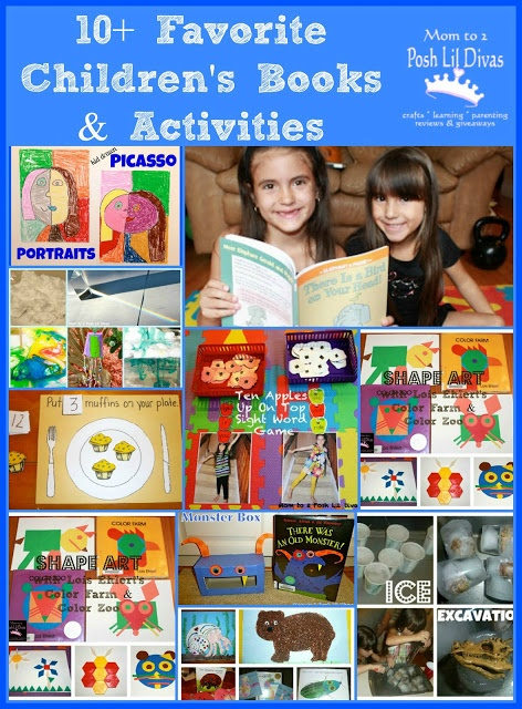 Children's Book Week 2013 - Favorite Books and Activities for Kids {Share your favorite Book and Activity!}