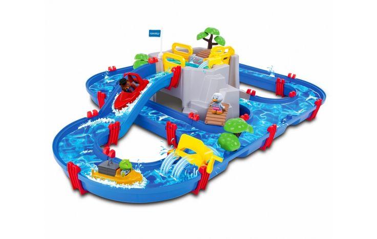 Vízi játék Csúszdapark 3 éves kortól, Moutain Lake - AquaPlay