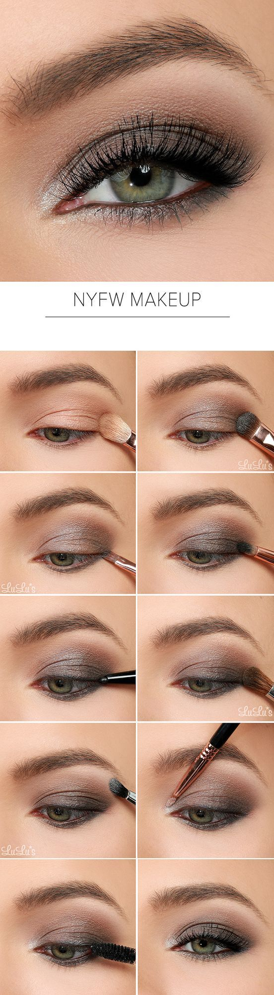 Inspired Eye Shadow Tutorial This week we sought inspiration straight from the New York runways to create our smouldering 2015 NYFW Inspired Eye Shadow Tutorial! We chose some of of our favorite gr…
