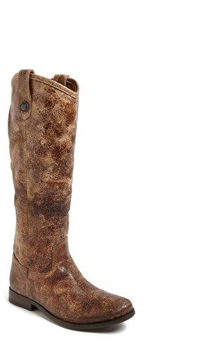 Frye 'Melissa Button' Leather Riding Boot  Brand: Frye Store: Nordstrom Color: Brown Availability: In Stock Price: $367.95