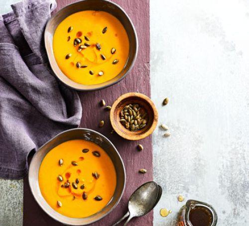 Pumpkin & bacon soup 2016
