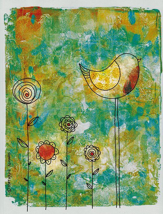 Nathalie Jomard - Promenades créatives: Birdy