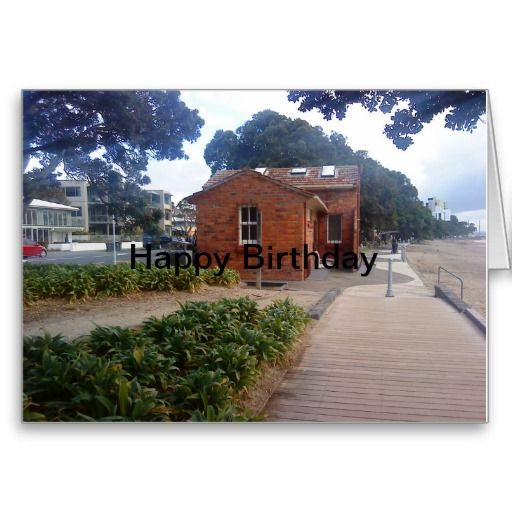 A coastal walk inside the card reads : Psst... I think its your birthday