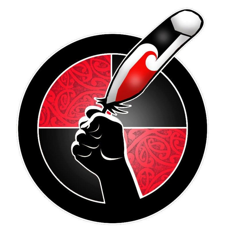 #idlenomore - solidarity image from Aotearoa