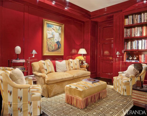 665 best Color: Red Rooms I Love images on Pinterest | Red rooms ...