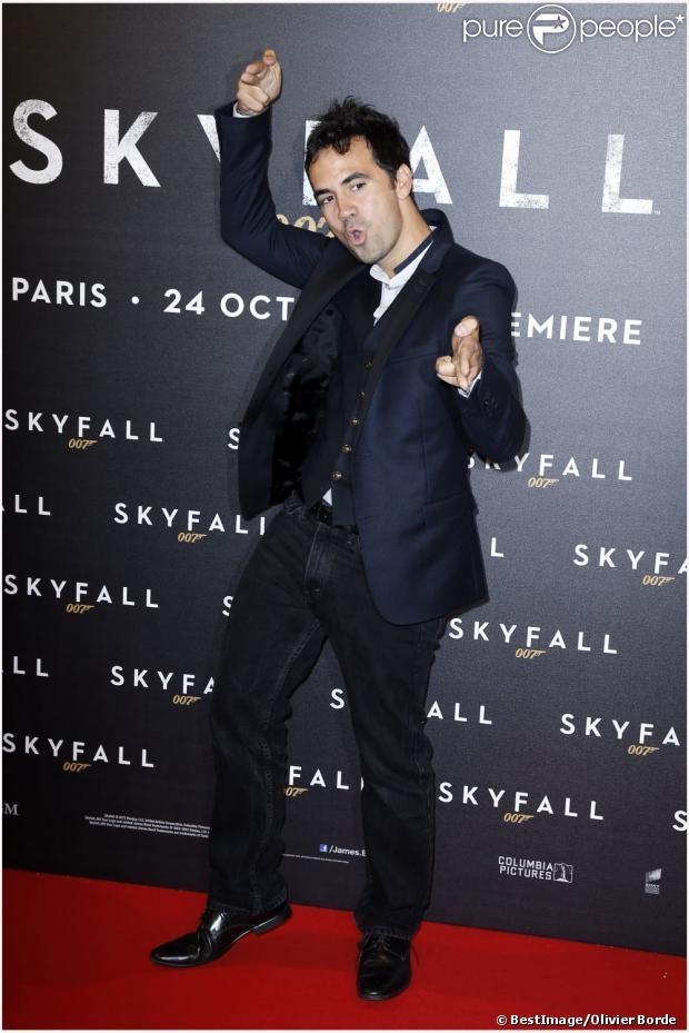 Alex Goude lors de l'avant-première du dernier James Bond, Skyfall, à Paris le 24 octobre 2012