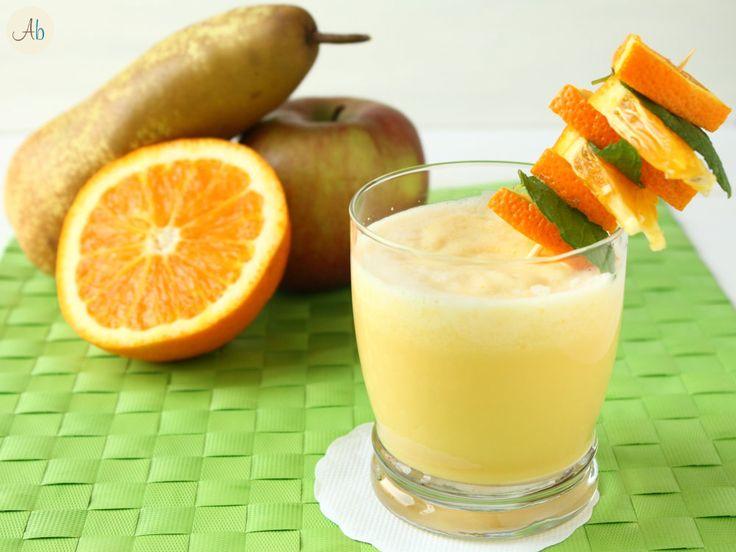 Frullato di Mela e Arancia - Ottima 1^ colazione estiva! :)