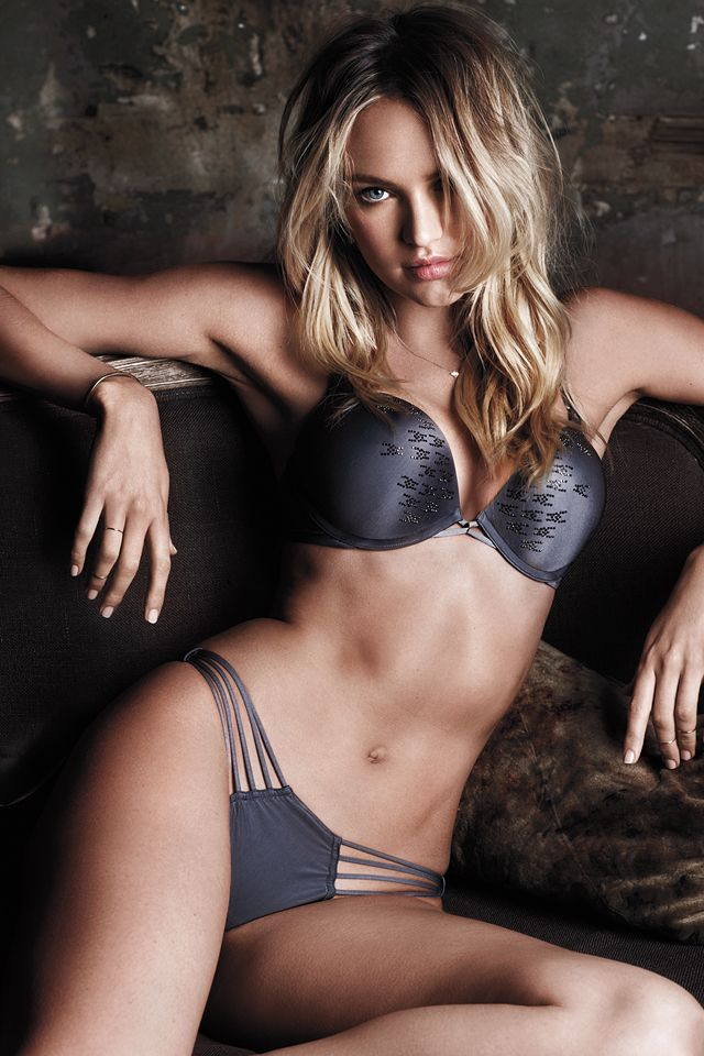 Nothing can stop us. #Fearless | Victoria's Secret Add-2-Cups Bra & Strappy Panty