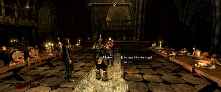 For new playthrough I decided to name my Imperial after famous Monty Python character. This was the moment I realized I have 0 regrets. #games #Skyrim #elderscrolls #BE3 #gaming #videogames #Concours #NGC