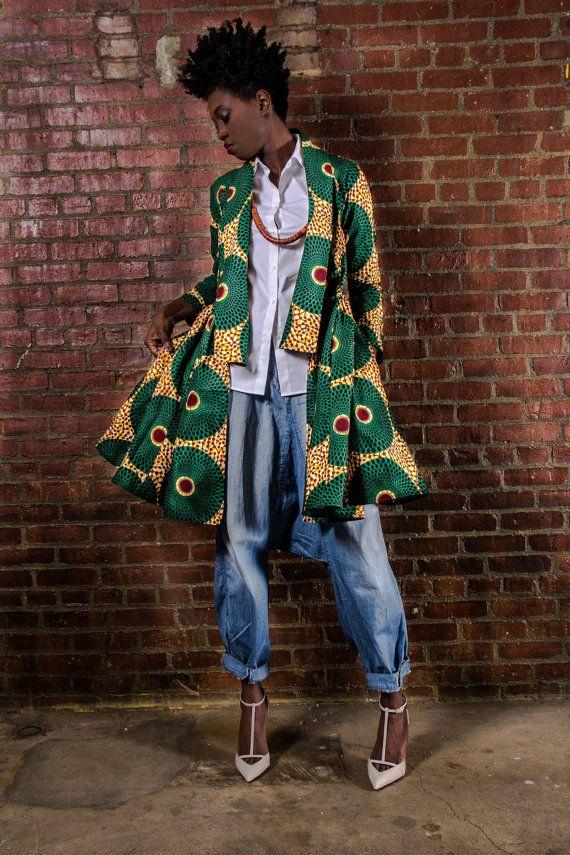 The Gugu Wrap Coat Dress By Demestiksnewyork On Etsy