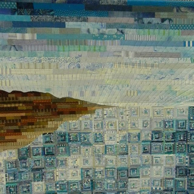 "The Dead Sea"", Gisha Wogier (Israel). World Quilt Show Florida 2012"
