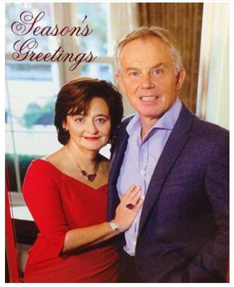 Tony Blair's Christmas Card