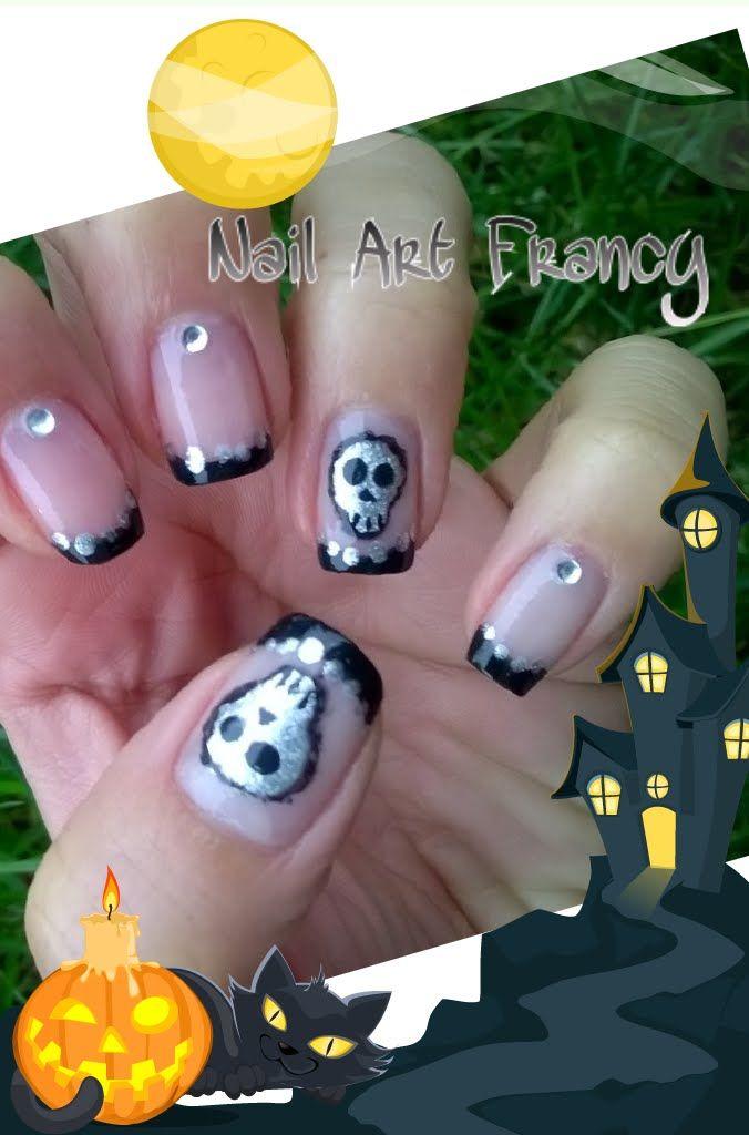 Tutorial Nail Art Halloween #3