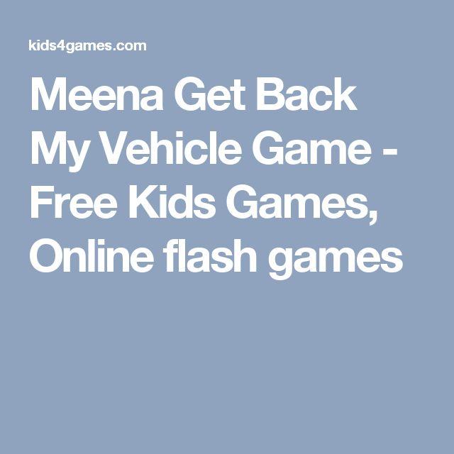 Meena Get Back My Vehicle Game - Free Kids Games, Online flash games