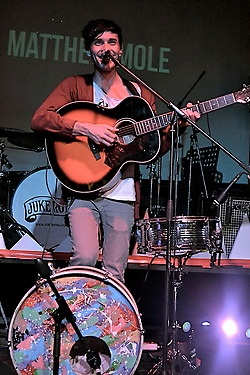 South African singer Matthew Mole