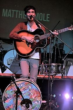 South African singer Matthew Mole