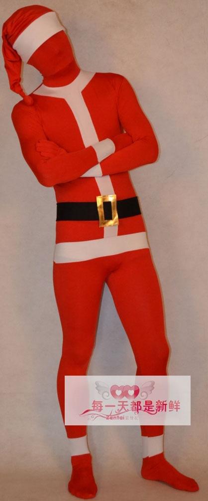 Más de 1000 ideas sobre Zentai Suit en Pinterest   Spandex, Catsuit y ... Naughty Santa Claus Costume For Men
