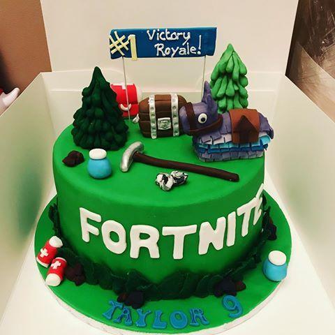 Fornite Fortnitecake Cake Boyscake Cakesforboys