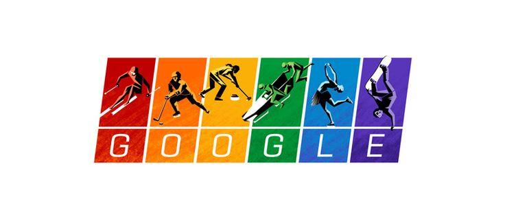 Google'dan 2014 Kış Olimpiyatları İçin Özel Logo
