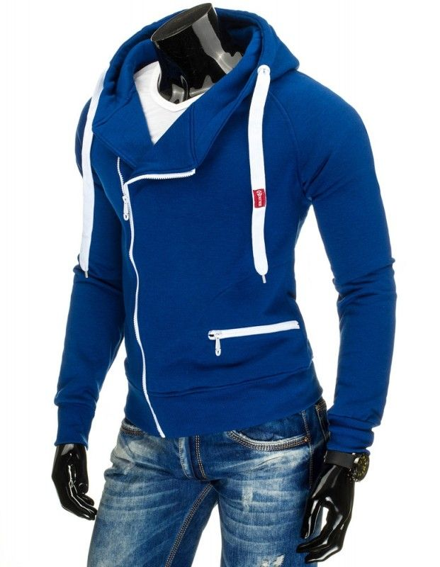 Pánská mikina - Frank, modrá