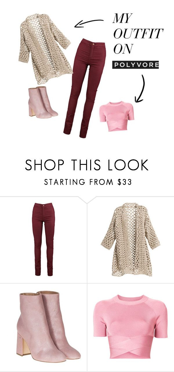 """""""REd & pink look"""" by elenarch-1 on Polyvore featuring мода, Chico's, Laurence Dacade и T By Alexander Wang"""
