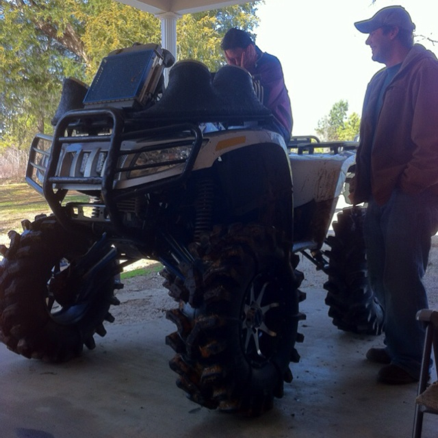 Now that is an ATV.