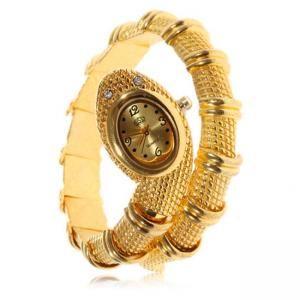 Relógio de pulseira de serpente - Ouro €5.49