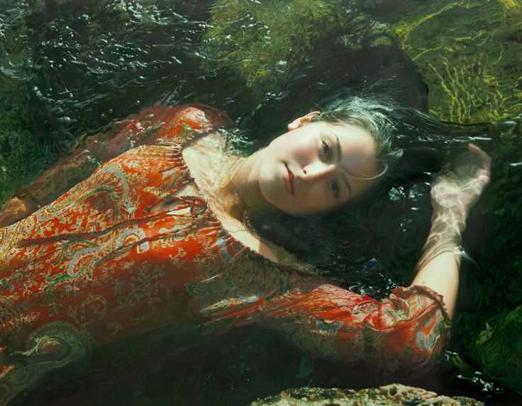 #hyperrealism #art #painting by Yigal Ozeri [ http://www.yigalozeriartist.com/ ] Just... wow!