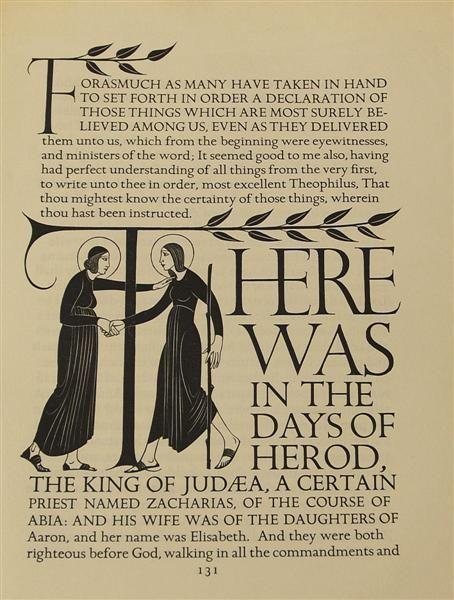Eric Gill: Four Gospels
