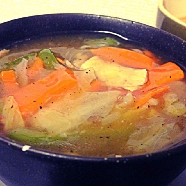 セブンの冷凍野菜で作った( ´ ▽ ` )ノ - 2件のもぐもぐ - 中華丼 by hiromus