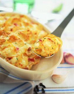 Gratin de pomme de terre au chevre... Un delice !