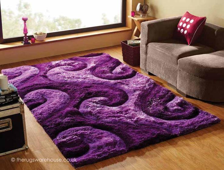 Enchantment Rug - Purple Rugs